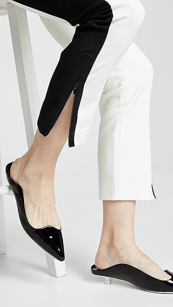 Tibi Узкие брюки с лампасами