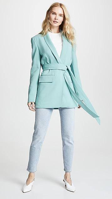 Tibi Oversized Tuxedo Blazer