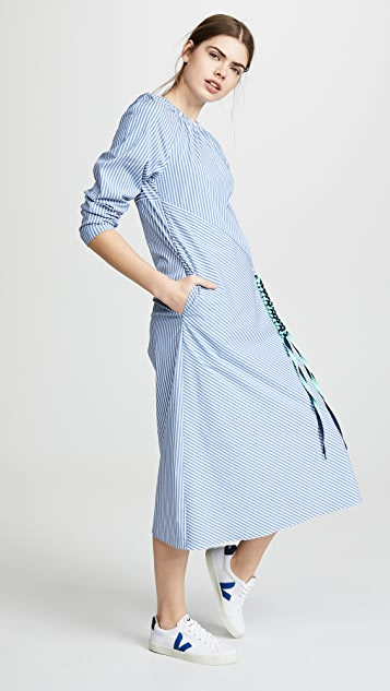 Tibi Lanyard Dress