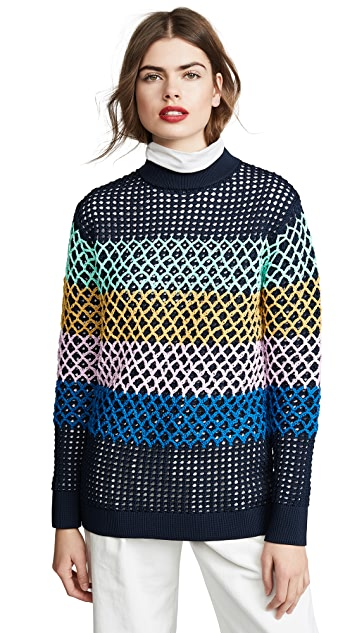 Tibi Oversized Tunic Pullover