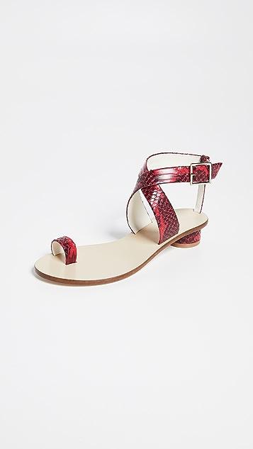 Tibi Hanson 趾环凉鞋