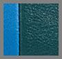 зеленый/голубой