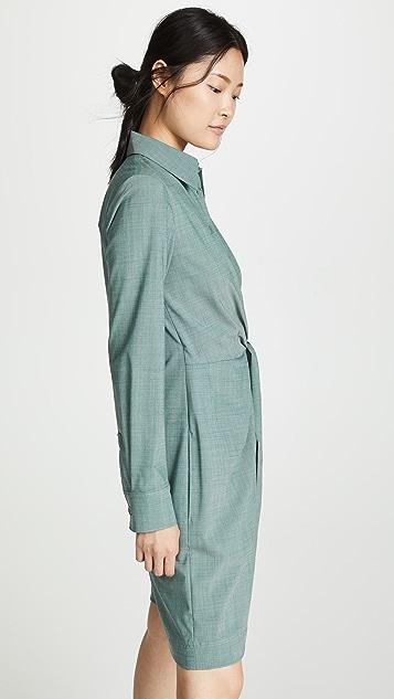 Tibi 交染羊毛短款连身衣