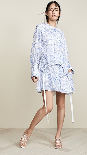 Tibi Dresses Short Shirtdress