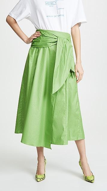 Tibi Skirts Wrap Skirt