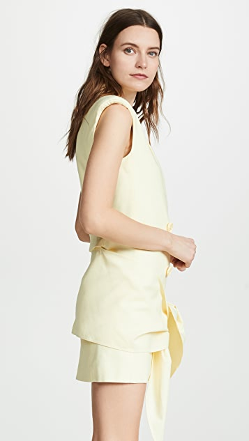 Tibi Sleeveless Jacket Dress
