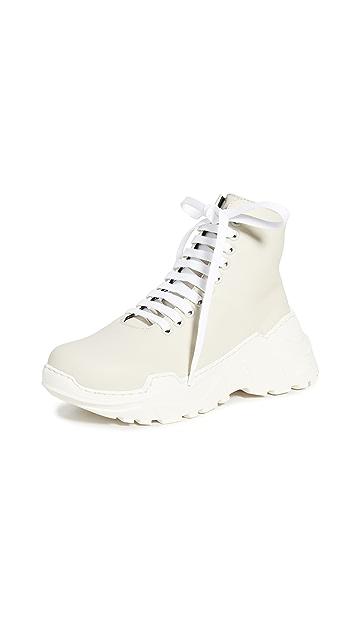 Tibi Milo Hi-Top Sneakers