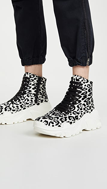 Tibi Milo High Top Sneakers