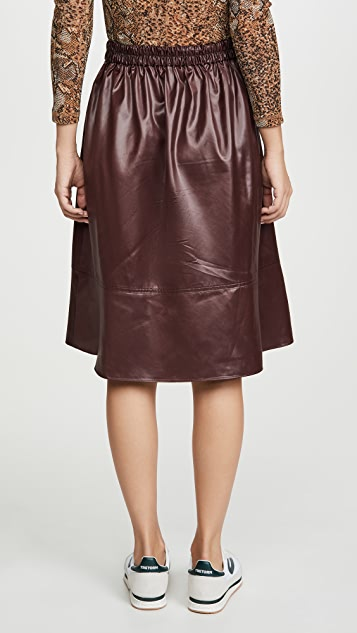 Tibi Pull On Skirt