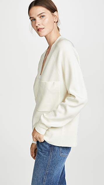 Tibi Compact Wool Blends Sweater