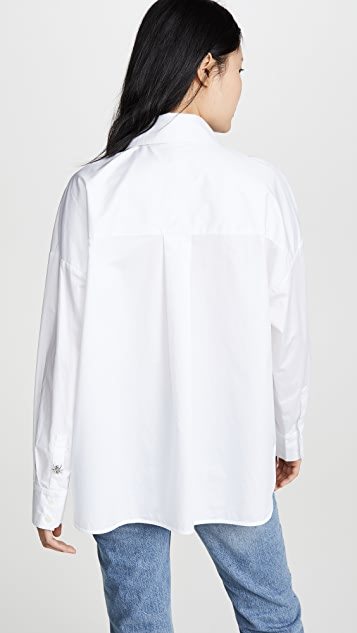 Tibi Ant Beaded Shirt