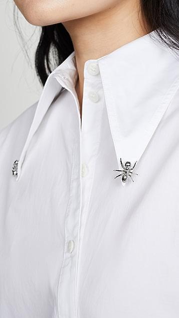 Tibi Ant Beaded Shirt
