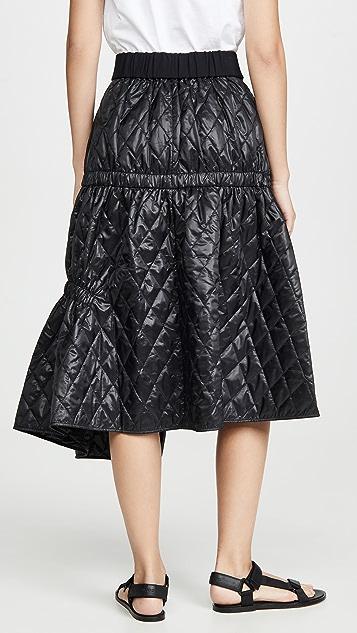 Tibi Asymmetric Skirt
