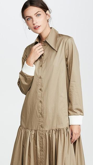 Tibi Платье-рубашка