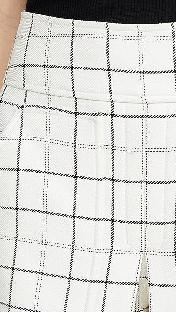 Tibi Юбка-шорты в стиле карго