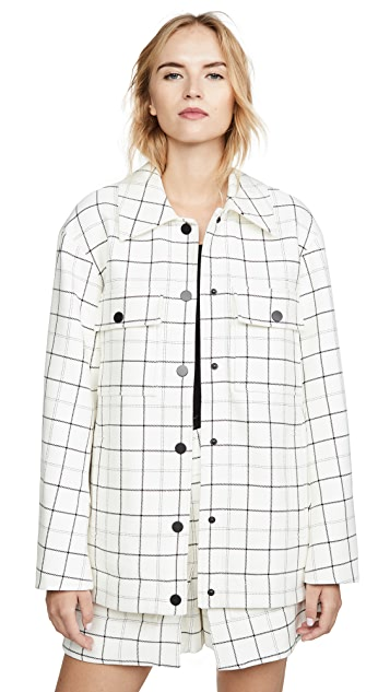 Tibi Workmen Coat