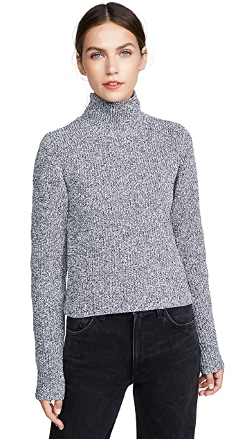 Tibi Two Way Cropped Cardigan