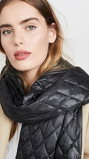 Tibi 针织袖绗缝围巾