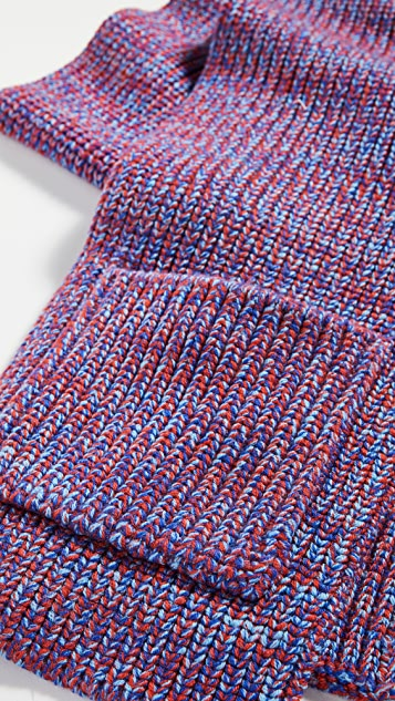 Tibi Шерстяной шарф