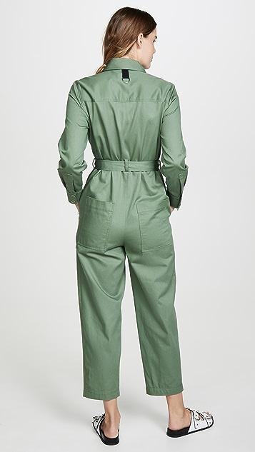 Tibi 棉质连身衣