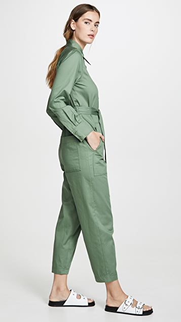 Tibi Cotton Jumpsuit