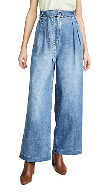 Tibi Stella Full Length Jeans
