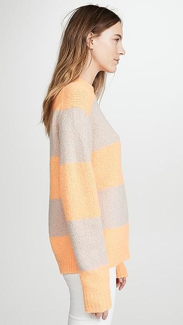 Tibi Alpaca Easy Pullover