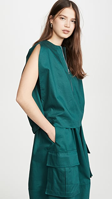 Tibi Ballon Dress