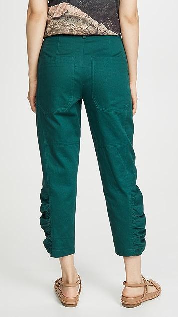 Tibi 皱折裤子