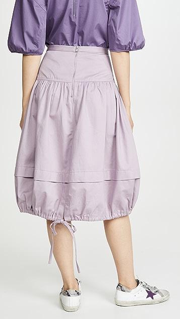 Tibi Balloon Skirt
