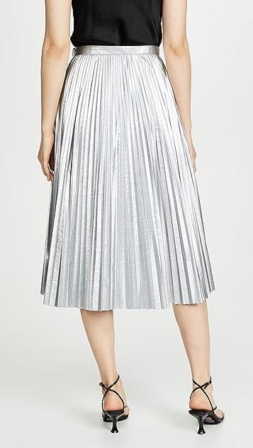 Tibi Pleated Skirt