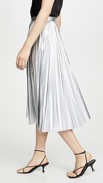 Tibi Плиссированная юбка