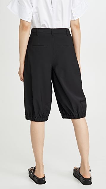 Tibi Tropical Bloomer Shorts