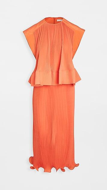 Tibi 裥褶连衣裙