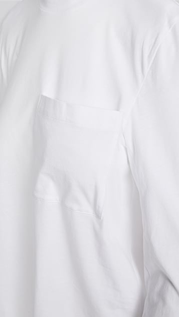 Tibi Tess 可拆卸肩垫 T 恤