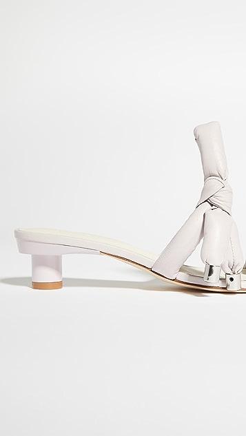 Tibi Emil 趾环方头凉鞋