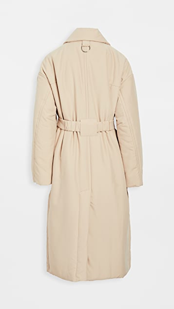 Tibi Lab Trench with Removable Utility Belt