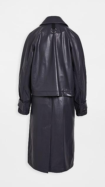 Tibi Convertible Trench Coat