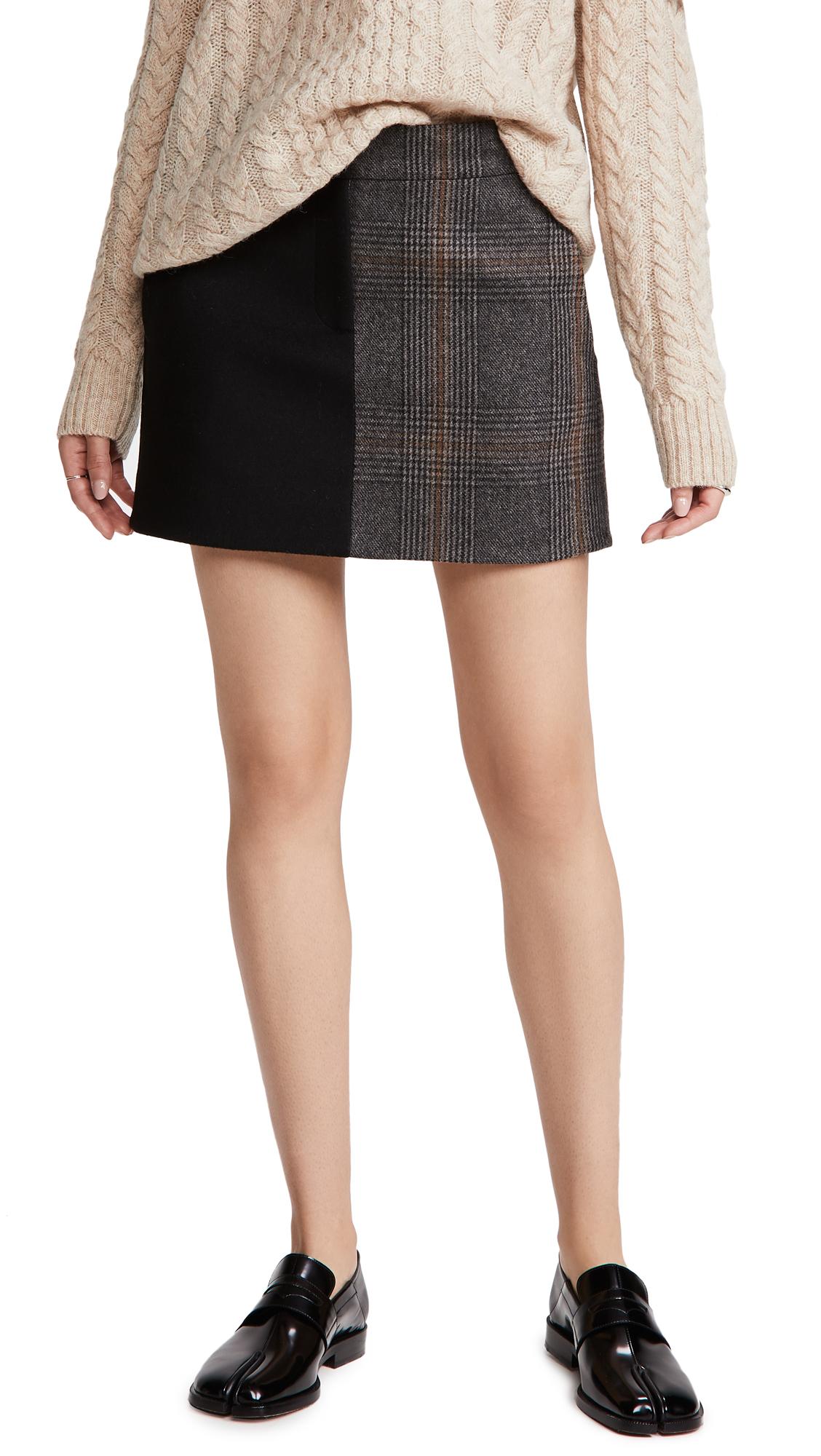 Tibi Mini Trouser Skirt