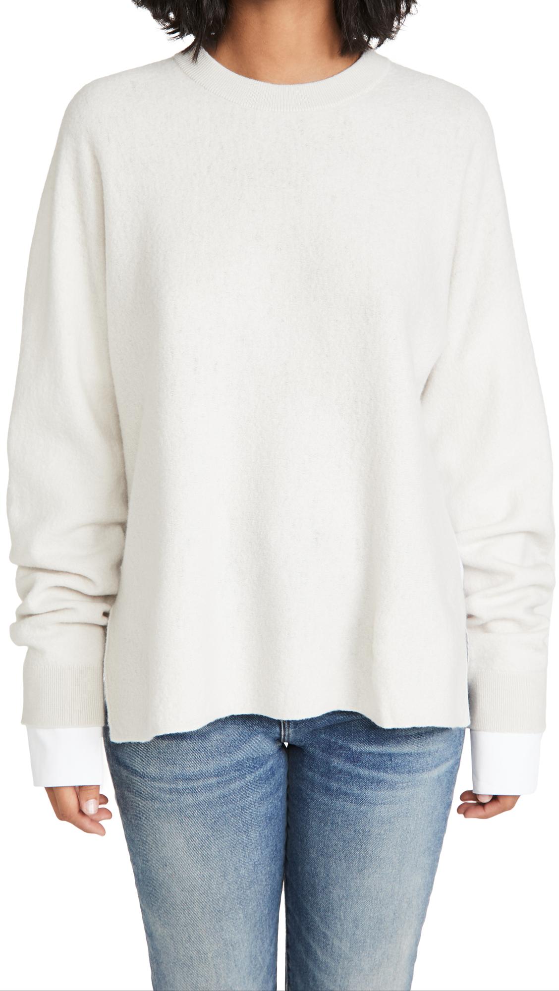Tibi Combo Sweater