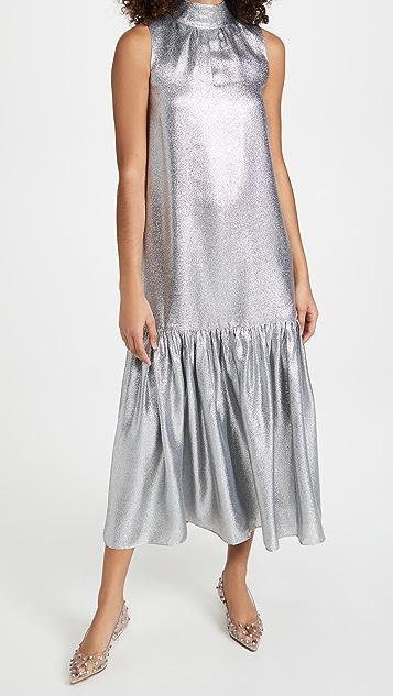 Tibi 低腰连衣裙