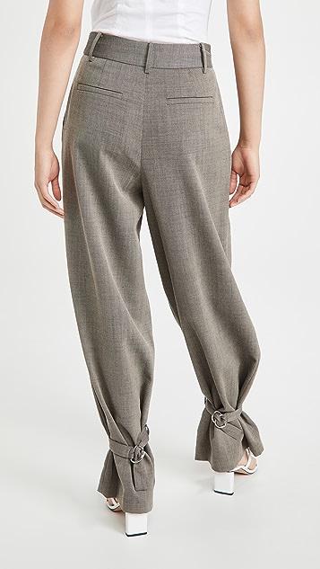 Tibi Stella Pleat Pants