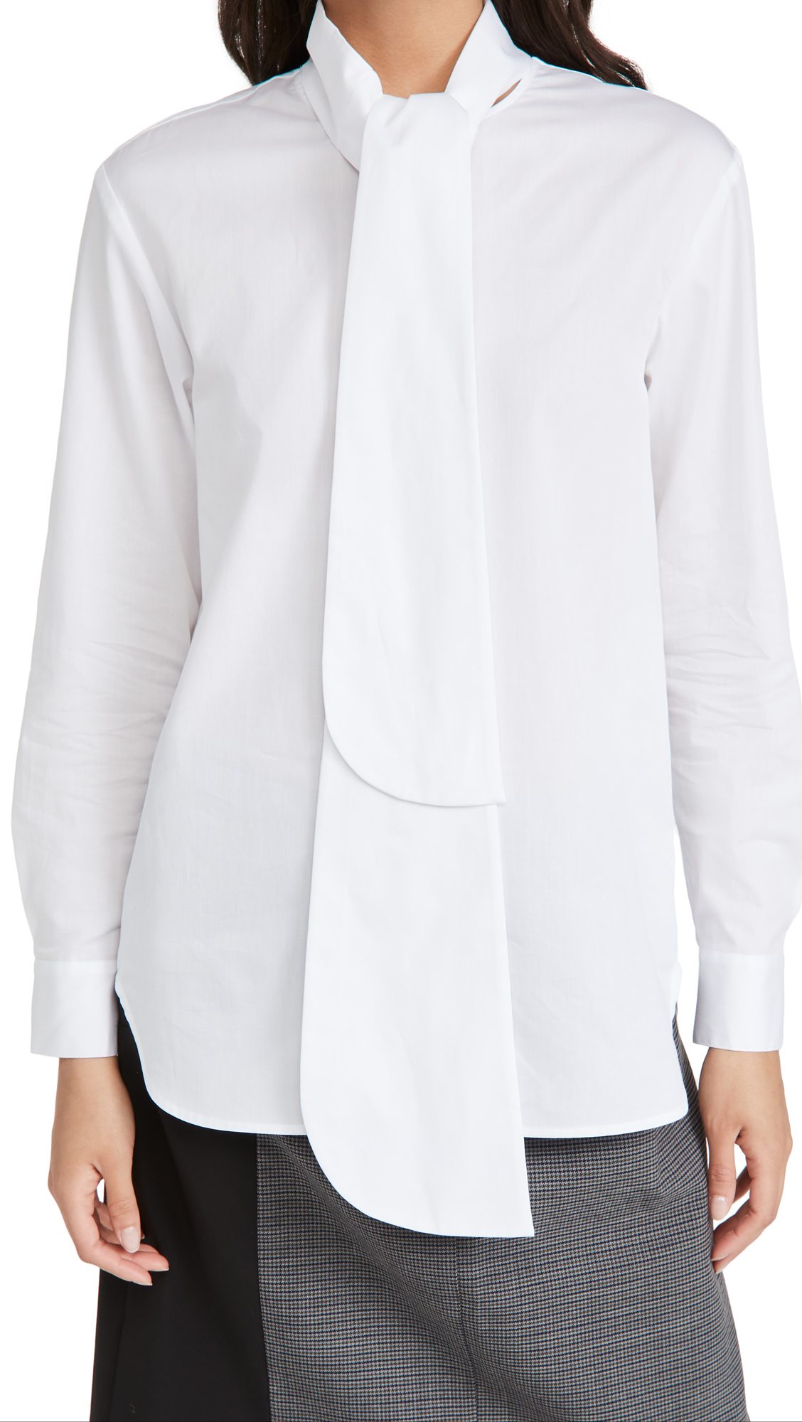 Tibi Flap Tie Shirt