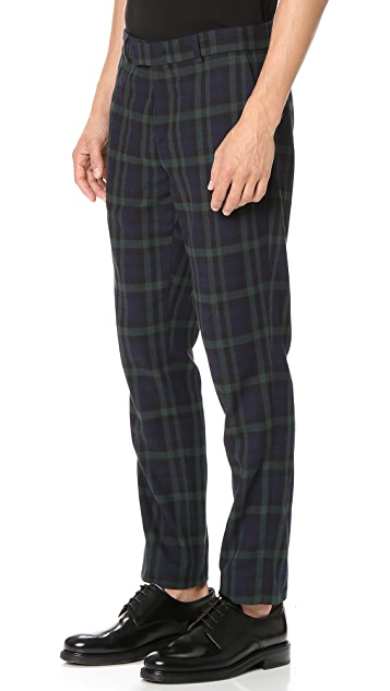 Timo Weiland Elliot Flat Front Trousers