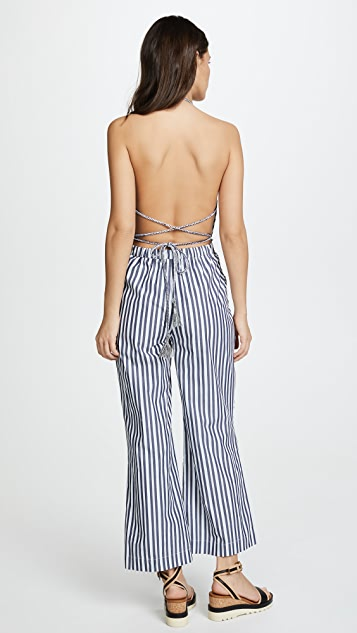 The Jetset Diaries Cornflower Jumpsuit