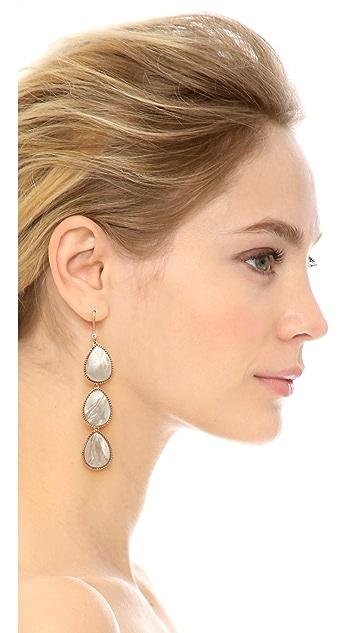 Theia Jewelry Three Tier Drop Earrings