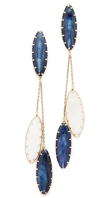 Theia Jewelry Lapis Drop Earrings