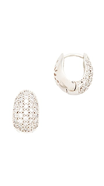 Theia Jewelry Petite Huggie Earrings
