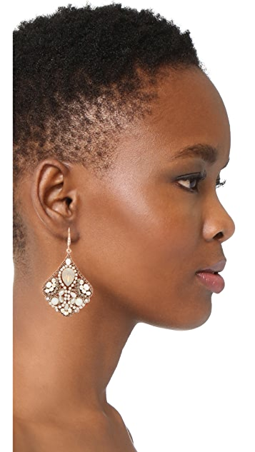 Theia Jewelry Cleopatra Chandelier Earrings