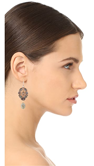 Theia Jewelry Athena Chandelier Earrings